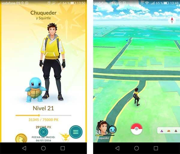 accidentes Pokémon GO
