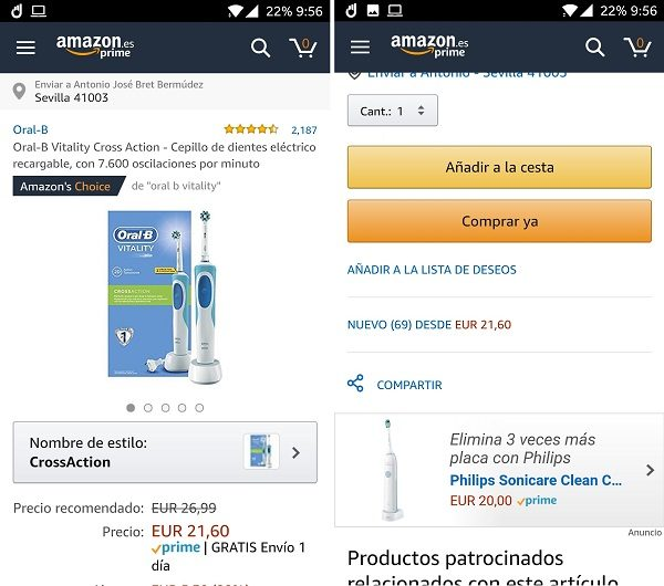 amazon comprar app