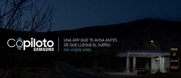 Copiloto Samsung, app para evitar que te quedes dormido al volante