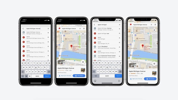 google maps app for iphone maps ya es totalmente compatible con iphone x 17002