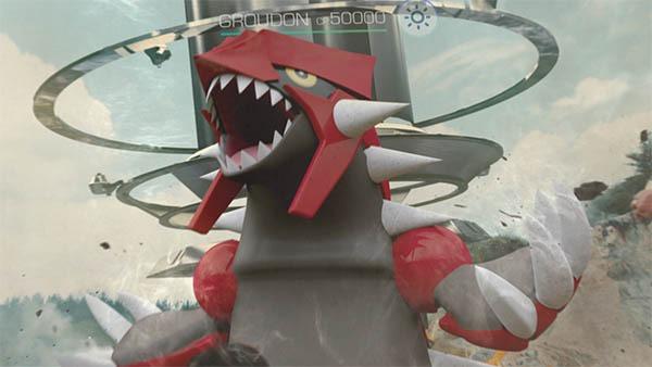 Cómo capturar a Groudon en las incursiones legendarias de Pokémon GO