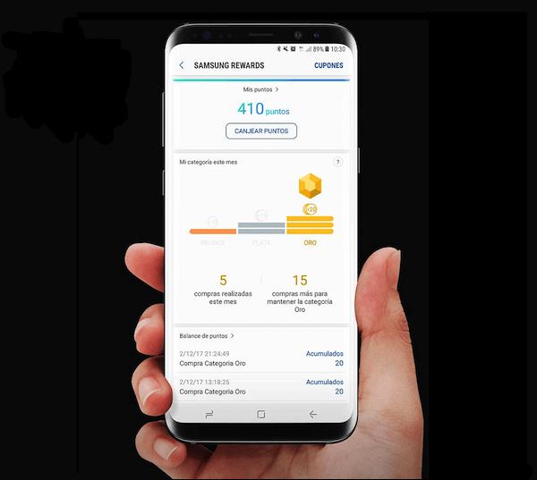 Samsung Rewards, consigue regalos comprando con Samsung Pay