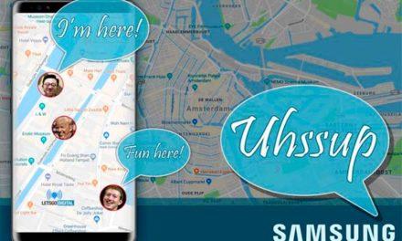 Uhssup, una nueva aplicación de Samsung para compartir tu ubicación en vivo