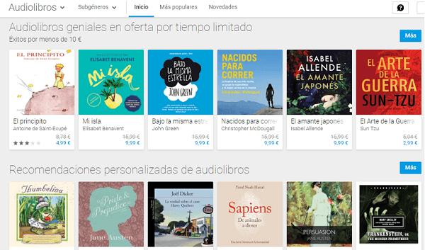 Cómo buscar, comprar y descargar audiolibros desde Google Play Store