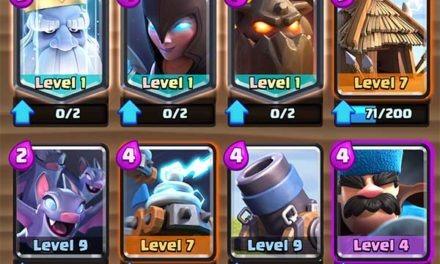 Clash Royale vuelve a modificar los ataques y valores de sus cartas