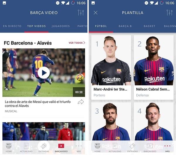 ficha deportistas fc barcelona app