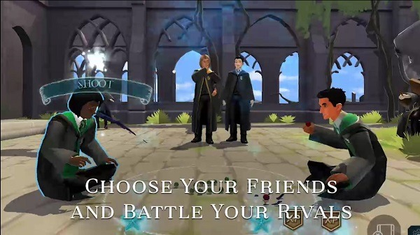 harry potter combates