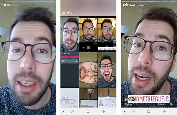 cortando vídeos largos para Instagram