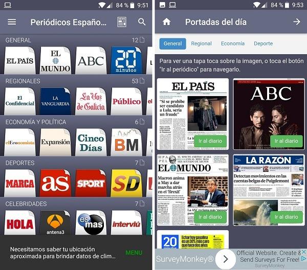 periodicos españoles