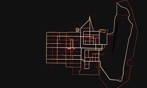 La aplicación de fitness Strava reveló la ubicación de bases militares secretas