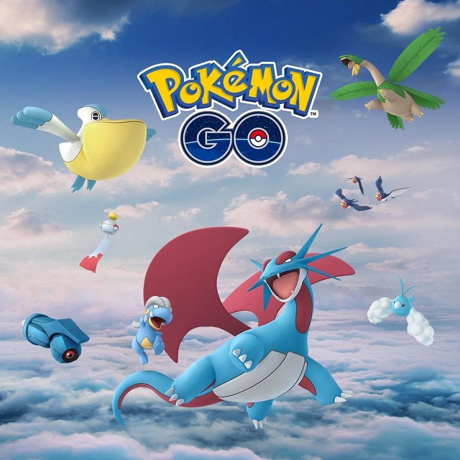 Nuevos Pokémon voladores llegan a Pokémon GO