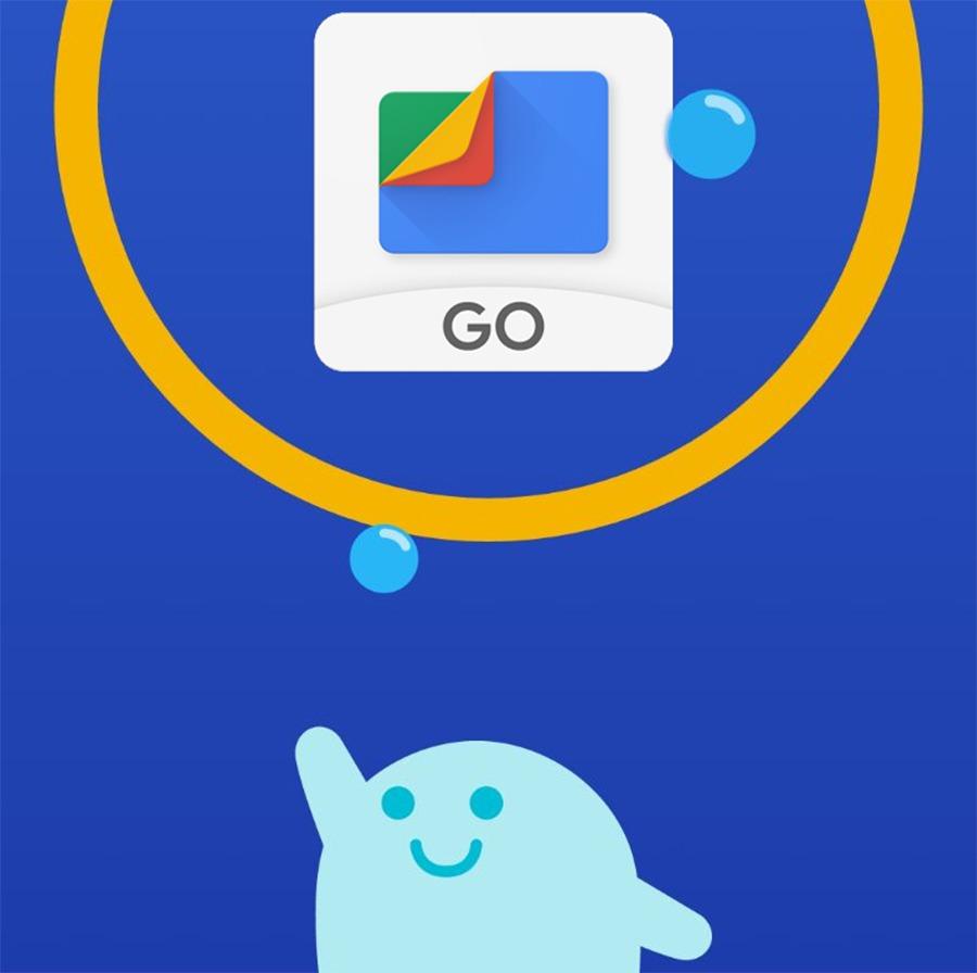 Cómo guardar fotos y archivos en Google Drive a través de Files Go