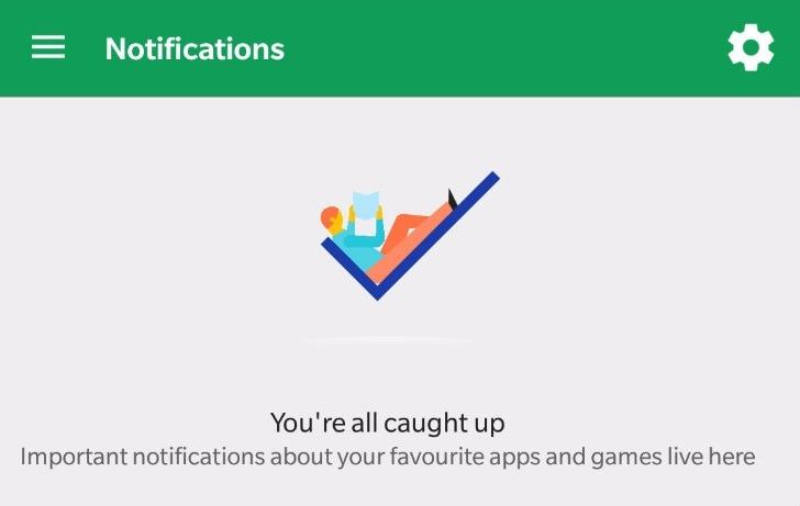 Así es el nuevo menú de notificaciones de Google Play Store