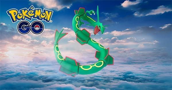 Cómo capturar a Rayquaza en Pokémon GO