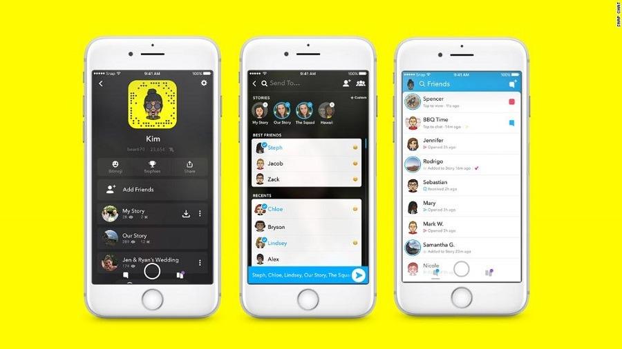 Más usuarios se conectan a Snapchat