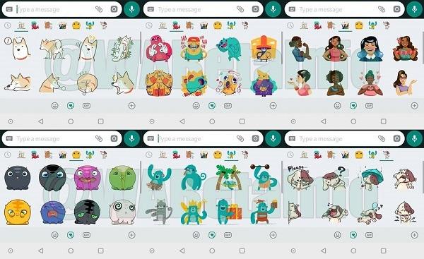 Nuevos packs de stickers que llegarán a WhatsApp