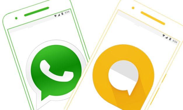 Google Allo o WhatsApp, cuál es la mejor aplicación de mensajería
