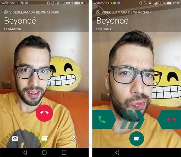 WhatsApp se actualiza en iPhone para activar el cambio de llamada a videollamada