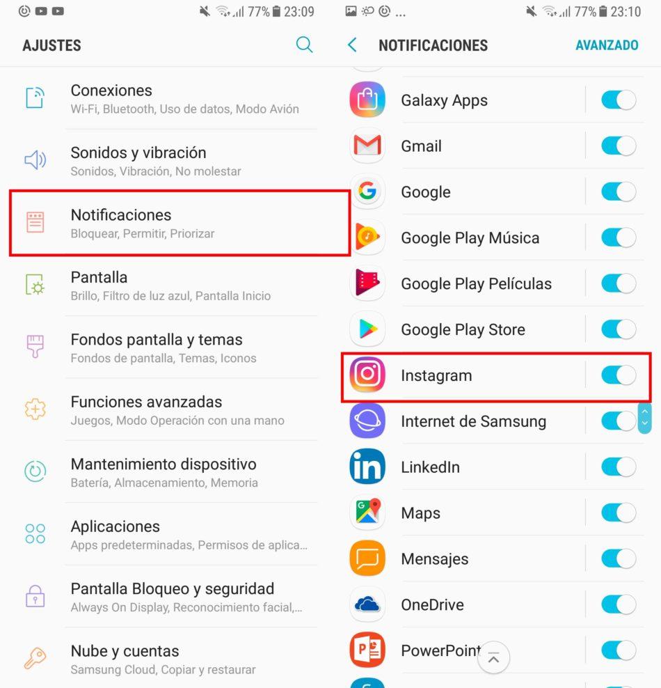 Notificaciones Android
