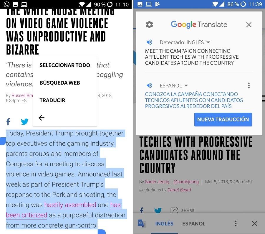 traductor de google traduccion automatica