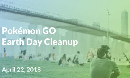 Pokémon GO recompensará a los jugadores que recojan basura el Día de la Tierra
