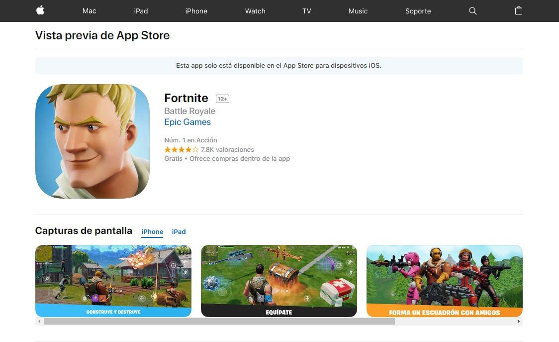 Fortnite para iPhone