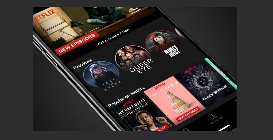 Netflix se actualiza para iPhone con mejores controles de reproducción