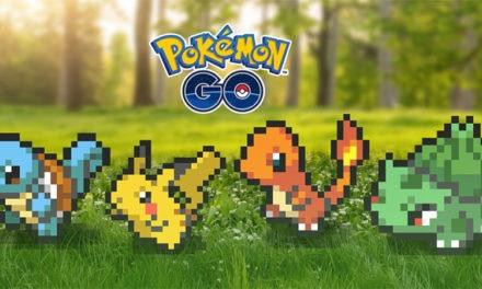 Pokémon GO se vuelve clásico con Pokémon en 8 bit