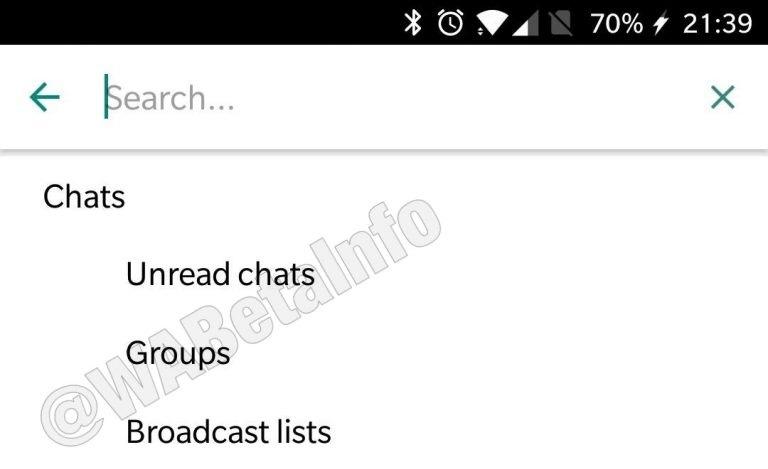 filtro de mensajes whatsapp business