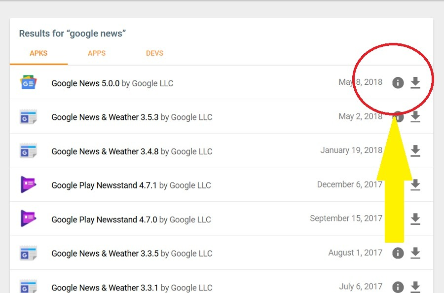 google news apk mirror
