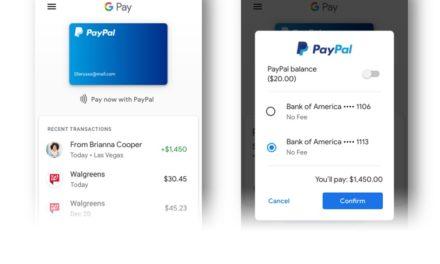 Ahora puedes pagar con PayPal a través de Google Pay