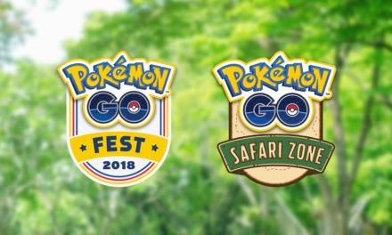 Pokémon GO Fest y Pokémon Safari Zone, vuelven los eventos a Pokémon GO