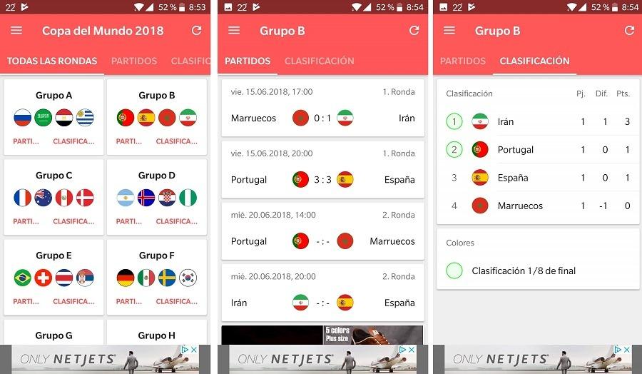 apps mundial rusia 2018