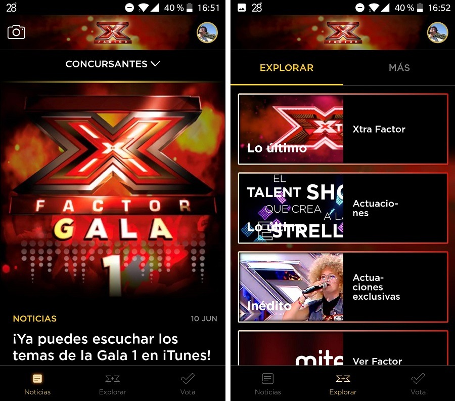 factor x app 1