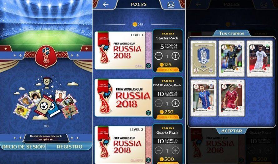 Los cromos oficiales del Mundial de Fútbol de Rusia 2018