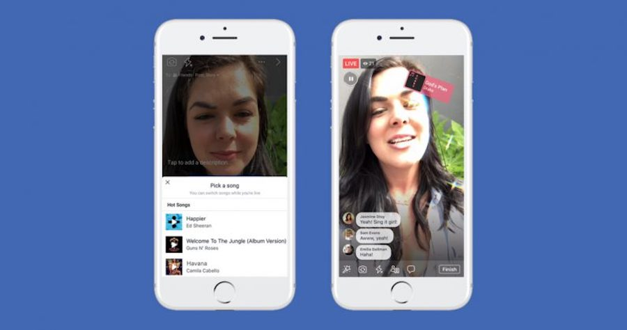 Lip Sync Live, así es el Musical.ly para las historias de Facebook