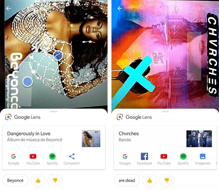 musica google lens