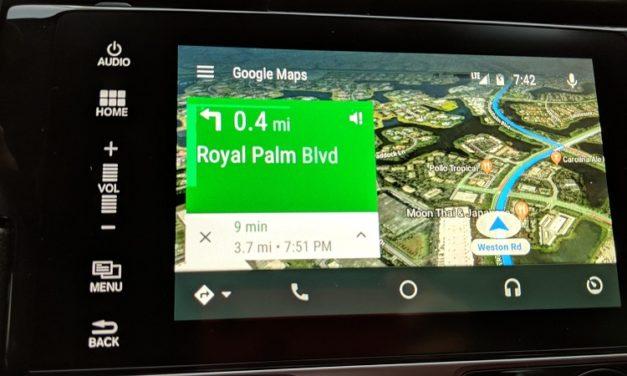 Cómo activar la vista por satélite en Android Auto