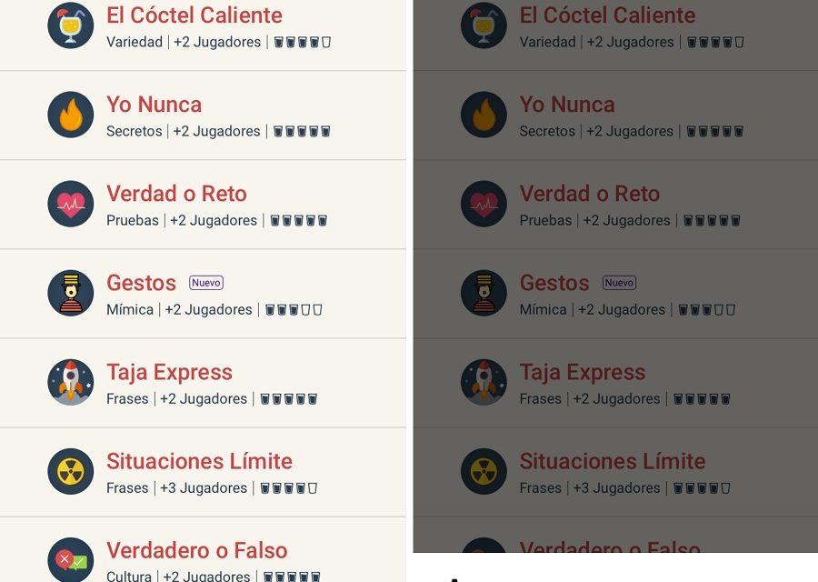 5 juegos para beber que puedes descargar en tu teléfono Android