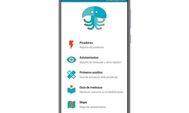 MedusApp, la aplicación de alerta de avistamiento de medusas de este verano