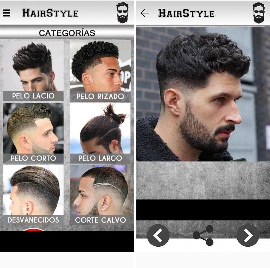 peinados hombre
