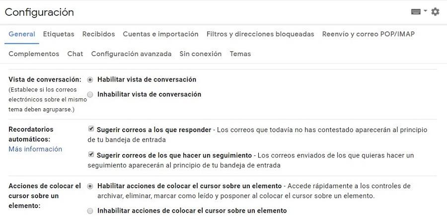 gmail conversaciones