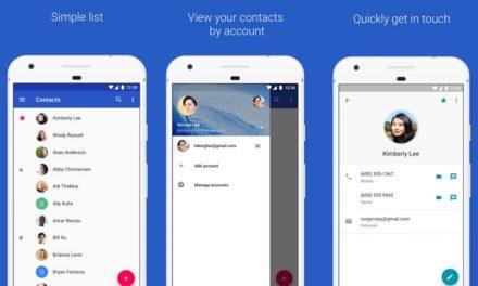 La app Contactos de Google se actualiza con un nuevo diseño