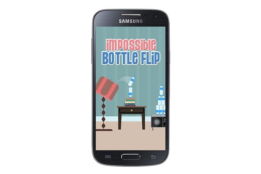Impossible Bottle Flip, el reto de la botella vuelve a Google Play Store