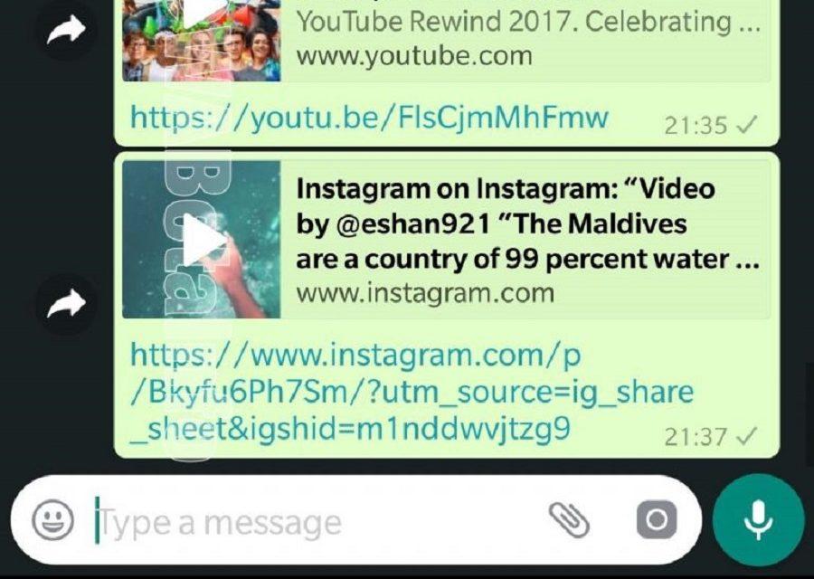 WhatsApp prepara una función para ver vídeos dentro de los chats