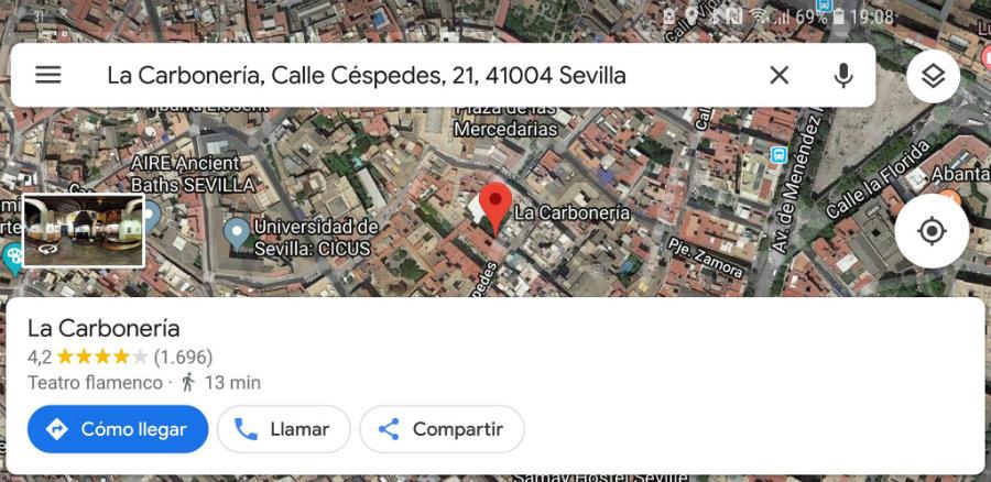 Encuentra lo que deseas agregar a una lista de Google Maps