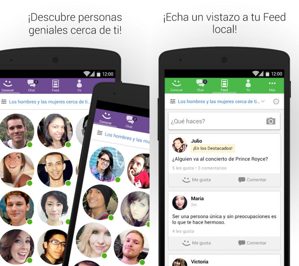 aplicaciones para hacer amistades