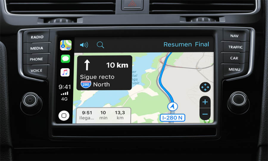 Cómo usar Google Maps a través de CarPlay con iPhone e iOS12