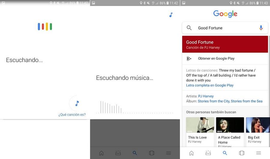 Cómo reconocer canciones a través de Google
