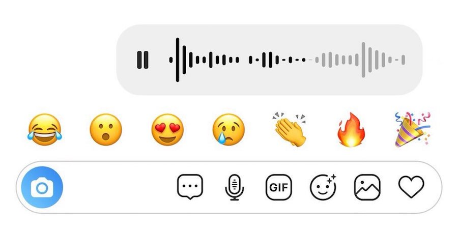 instagram direct mensajes de audio